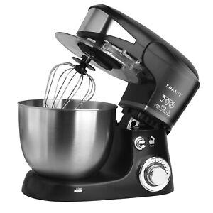 Robot Pâtissier Boulangerie Robot Cuisine Ménager Multifonction Bol 5L 1000W