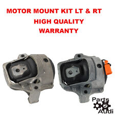 Engine Motor Mount Mounts Set Left and Right Kit For Audi A4 Quattro A5 Quattro