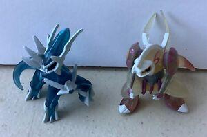 POKEMON Takara Tomy DIALGA & PALKIA Mini Figure Lot Nintendo Pocket Monsters