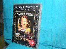 ANDRE RIEU - La vie est belle - DELUXE EDITION DVD & CD - PAL/NTSC 0