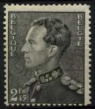 Belgium 1936 SG#764, 2f45 Black King Leopold III MH Cat £60 #D74522