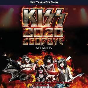 KISS 2020 GOODBYE DUBAI 2CD