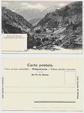 FERROVIA GOTTARDO BIASCHINA GIORNICO cartolina non viaggiata Ticino Leventina