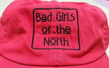 Bad Girls of the North Alaska Trucker Baseball Hat Cap Red Cotton Embroidered