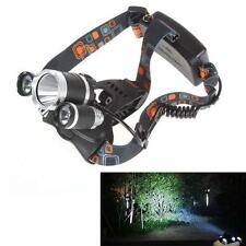 20000Lm 3x CREE XM-L T6 LED Flashlight Rechargeable HeadLight Torch FT