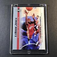 LEBRON JAMES 2003 UPPER DECK #6 PHENOMENAL BEGINNINGS ROOKIE RC NBA CAVS LAKERS
