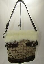 Coach Fur Shoulder Bag Bags   Handbags for Women  f039f15022a23