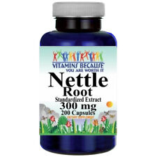 Stinging Nettle Root 300mg Standardized Extract 200 Caps Urtica Dioica by VB
