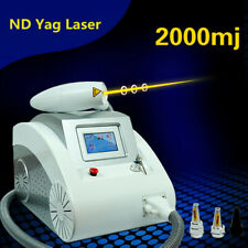 Q Switch Nd Yag Laser Tattoo Removal Machine Spot Mark Melanin Removal 2000mj