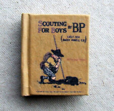 Dollshouse Miniature Book - Scouting For Boys