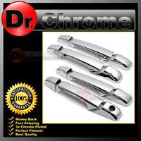 07-13 GMC Yukon+Yukon XL+Sierra+HD+Silverado Chrome 4 Door Handle w/o KH Cover