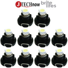 Jtech10 x T3 Neo Wedge White Car Instrument Cluster Panel Lamps Gauge LED Bulbs