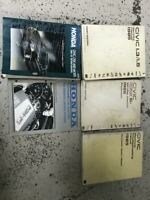 1985 Honda CIVIC Repair Service Shop Manual Set W ETM & CRX Supplement OEM 85