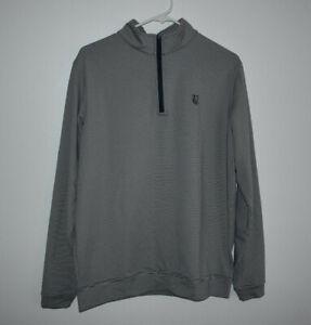 Peter Millar Men's Size M Polyester Blend 1/4 Zip Jacket Valley Club Montecito