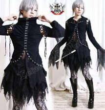 Gothic Queen EGL Vamp Hook & Eye 2-Layer Corset Shirt L