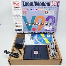 Zoom  Modem 3049 Telephonics Data/Fax Modem 56K External V.92 With a Serial Port