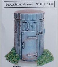 Artmaster 80.061 Beobachtungsbunker Bunker H0 1:87 Bausatz unbemalt Keramik