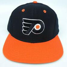 PHILADELPHIA FLYERS NHL VINTAGE SNAPBACK RETRO 2-TONE REEBOK CAP HAT NEW!