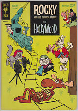 Rocky And His Fiendish Friends #2 F-VF 7.0 Gold Key 1962!
