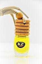VANILLA  AROMA VENTO Air Freshener HANGING car PERFUME Glass Bottle Wood 8ml