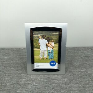 Mainstays 4x6 Picture Frame Silver Grey Metal