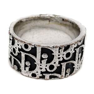 Christian Dior Ring  Black   1607830