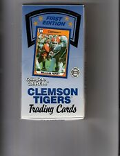 1990 Clemson Tigers Collegiate Collection Box 36 Packs WILLIAM PERRY  Free Ship
