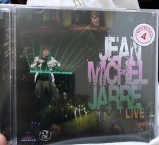 Jean Michel Jarre Live 2 CD Rare Kitaro Alan Parsons Oxygen