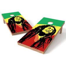 Bob Marley Cornhole Wrap Bag Toss 3M Cornhole Decal Set