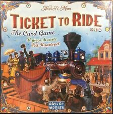 Ticket to Ride The Card Game Rare OOP Board Days of Wonder (BRAND NEW, SEALED)