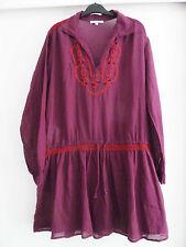 LES PETITES : Robe JOPLIN bohème hippie années 60's, taille M, comme neuve !!