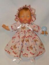 """14"""" Vintage Ideal Thumbelina Baby Doll Redressed"""