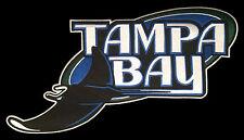 "2001-07 ERA TAMPA BAY DEVIL RAYS MLB BASEBALL HUGE 15"" TEAM LOGO PATCH"
