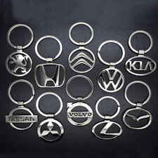 Hot Mens 3D Hollow Car Logo Metal Keychain Key Chain Pendant Holder Key Ring New