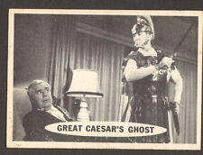 SUPERMAN 1950's tv series # 29 trading card GEORGE REEVES/GREAT CAESAR'S GHOST