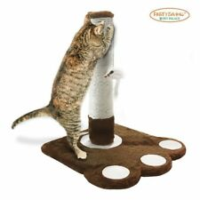 Cat Claw Scratching Sisal Post Furniture for Kittens and Cats with Toy Mouse NEW