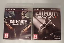 Pack Lote CALL OF DUTY BLACK OPS I y II para PS3 en español completos