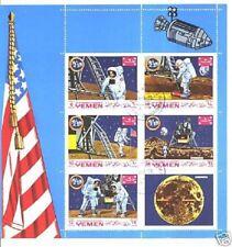 YEMEN. First man on the Moon, Apollo 11, Fegie / S67