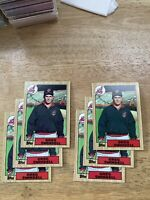 1987 Topps Greg Swindell Cleveland Indians #319 Baseball Card lot of (6) cards