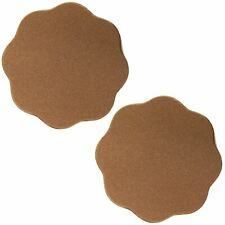 Silicone Nipple Covers Brown 1 Pair Re-useable Thick Nipple Covers