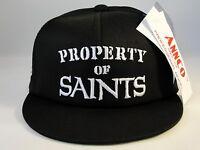 Infant Size NFL New Orleans Saints Vintage Hat Cap Black