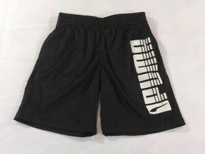 Puma Kids Black Short Pants - Size 5 - NWT
