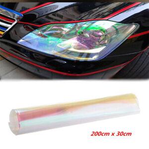 200x30cm Autos Tailight Headlight Chameleon Colorful Clear Tint Vinyl Film Cover