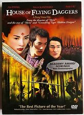 House of Flying Daggers (DVD, 2005) WITH SLIPCOVER LIKE NEW