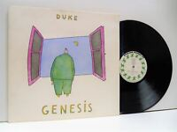 GENESIS duke LP EX/EX, CBR 101, vinyl, album, gatefold, prog rock, uk, 1980,