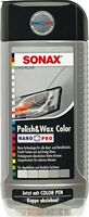 SONAX 296300 Polish & Wax Color NanoPro silber/grau 500 ml
