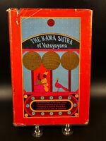 The Kama Sutra of Vatsyayana by Burton 1st HC DJ 1962 Dutton