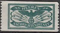 SALE Stamp Germany Revenue WWII Fascism War Era Newspaper Tax MNH