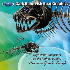 Dark Bone Fish Graphics - set of 300mm Boat Graphics