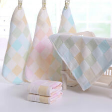 1pc Baby Towel Cotton Square Washcloth Soft Handkerchief Kids Toddler Wipe Cloth